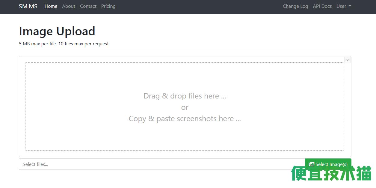 推荐几款免费的图床和图片处理工具  图片工具 图片处理 图床 第1张